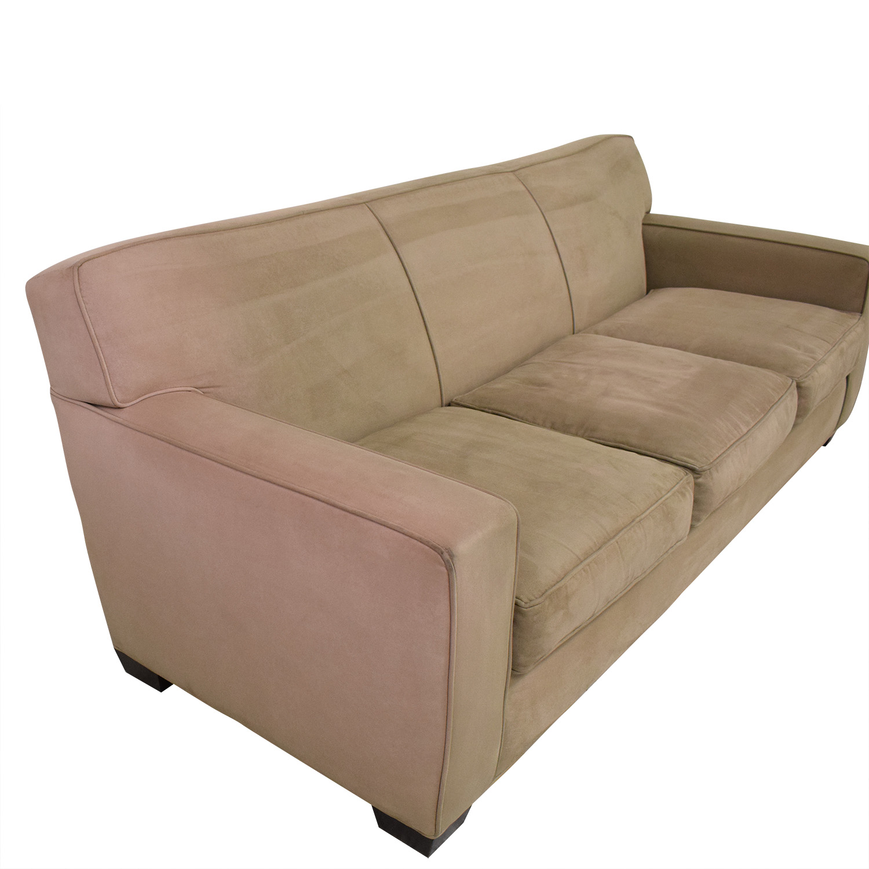 Crate & Barrel Crate & Barrel Three Cushion Sofa used