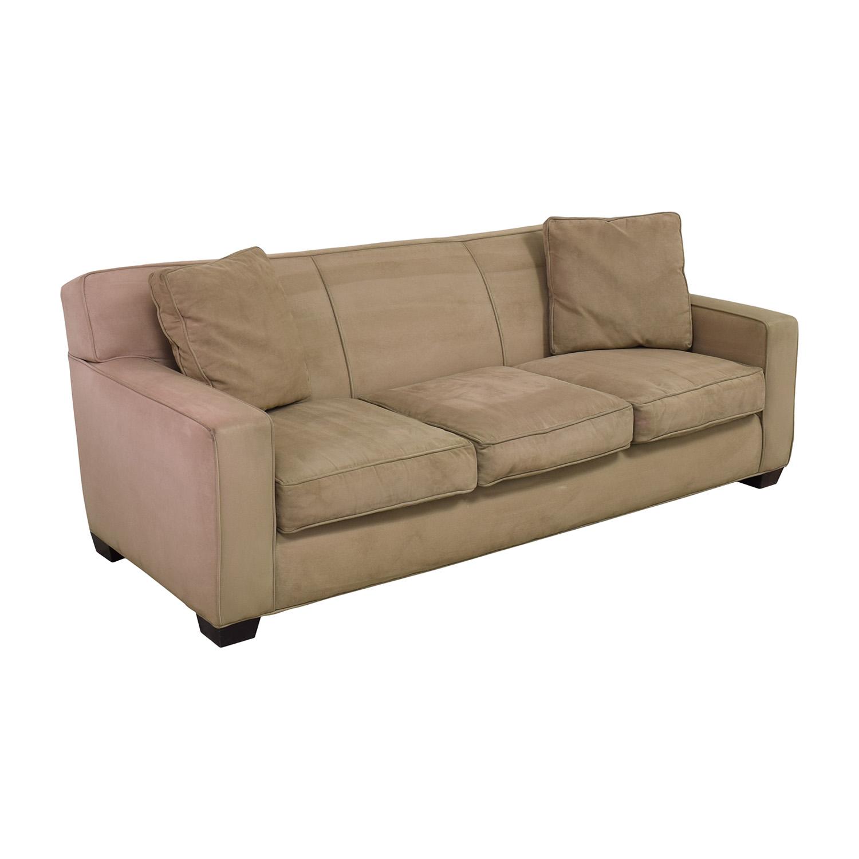 Crate & Barrel Crate & Barrel Three Cushion Sofa ma