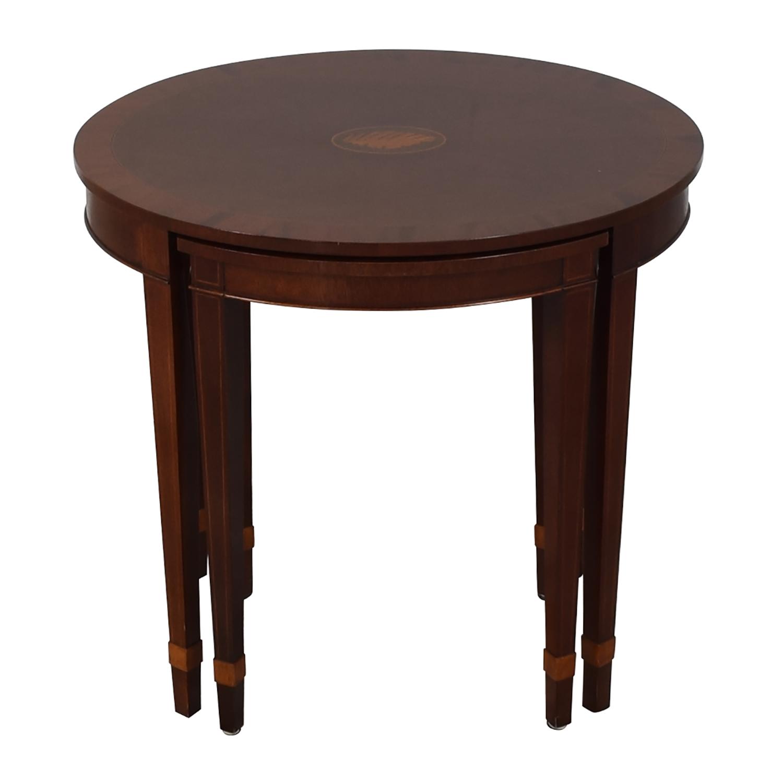 Baker Furniture Baker Furniture Nesting End Tables