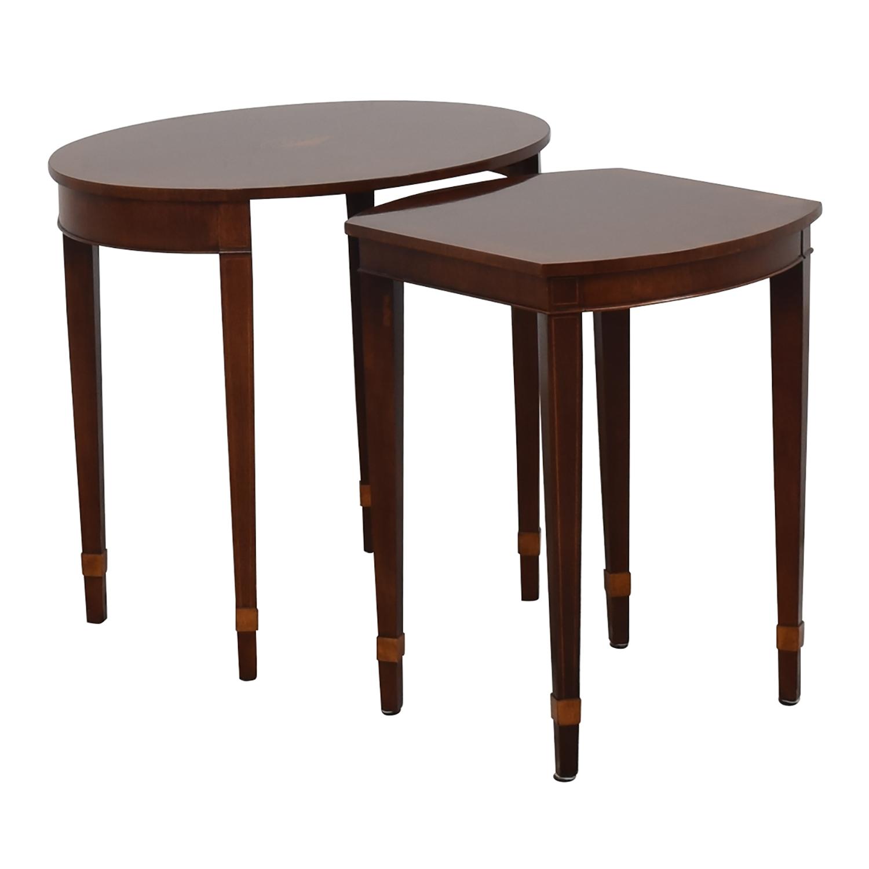 Baker Furniture Baker Furniture Nesting End Tables for sale