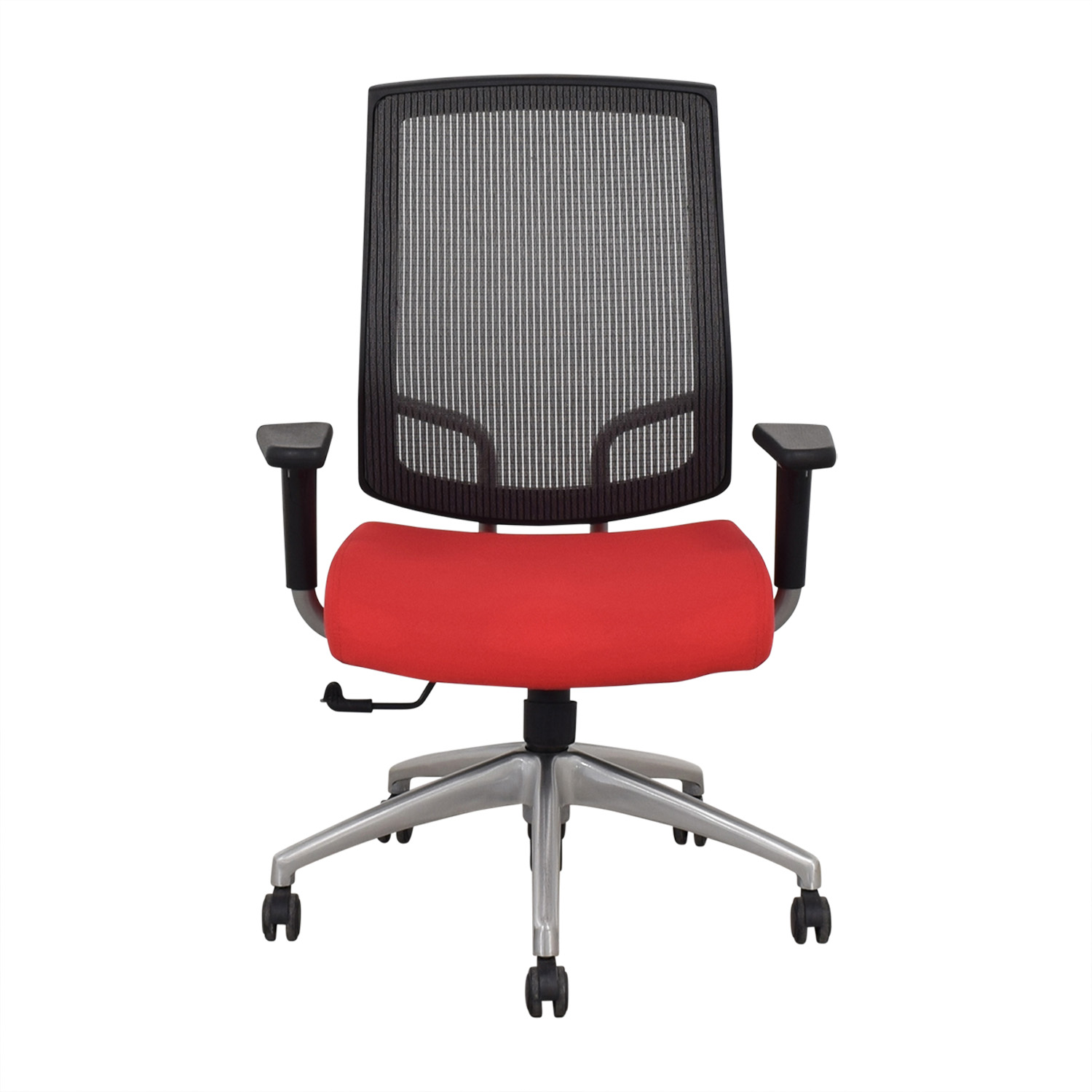 SitOnIt SitOnIt Focus High Back Office Chair red & black