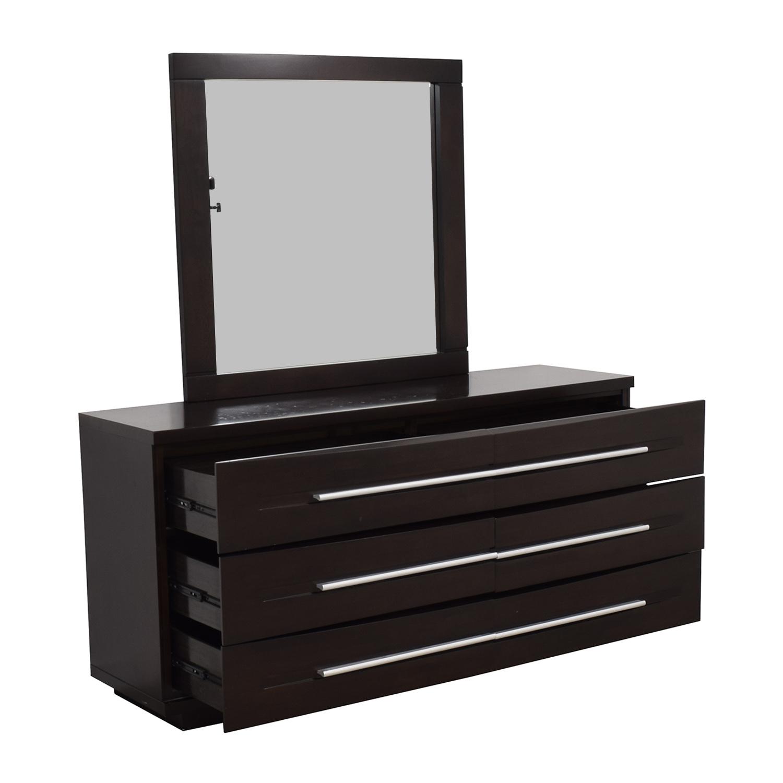 buy Casana Bedroom Dresser with Mirror Casana Furniture