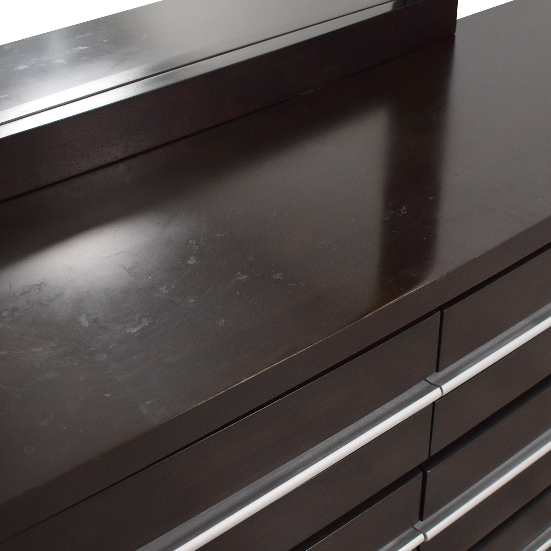 Casana Bedroom Dresser with Mirror / Dressers