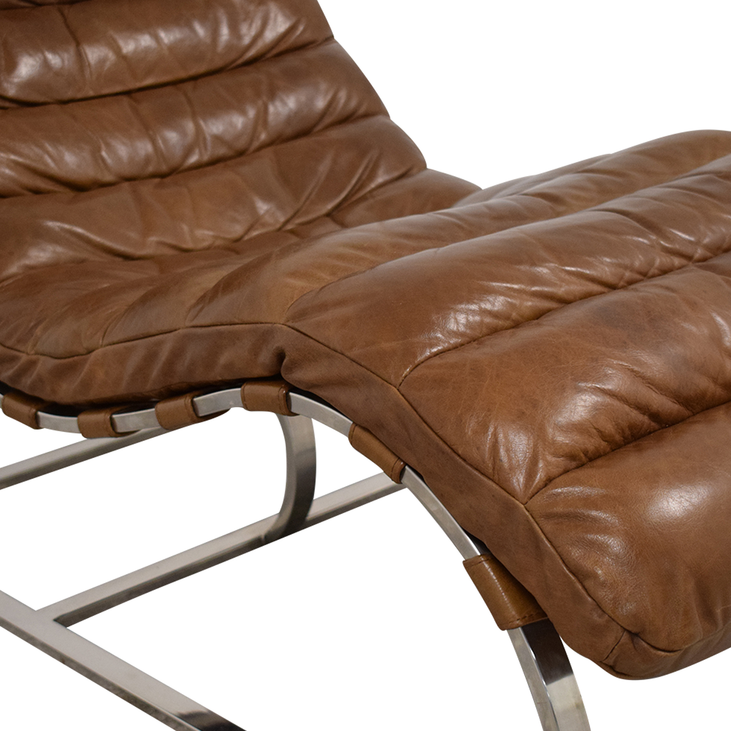 shop Restoration Hardware Restoration Hardware Oviedo Leather Chair online