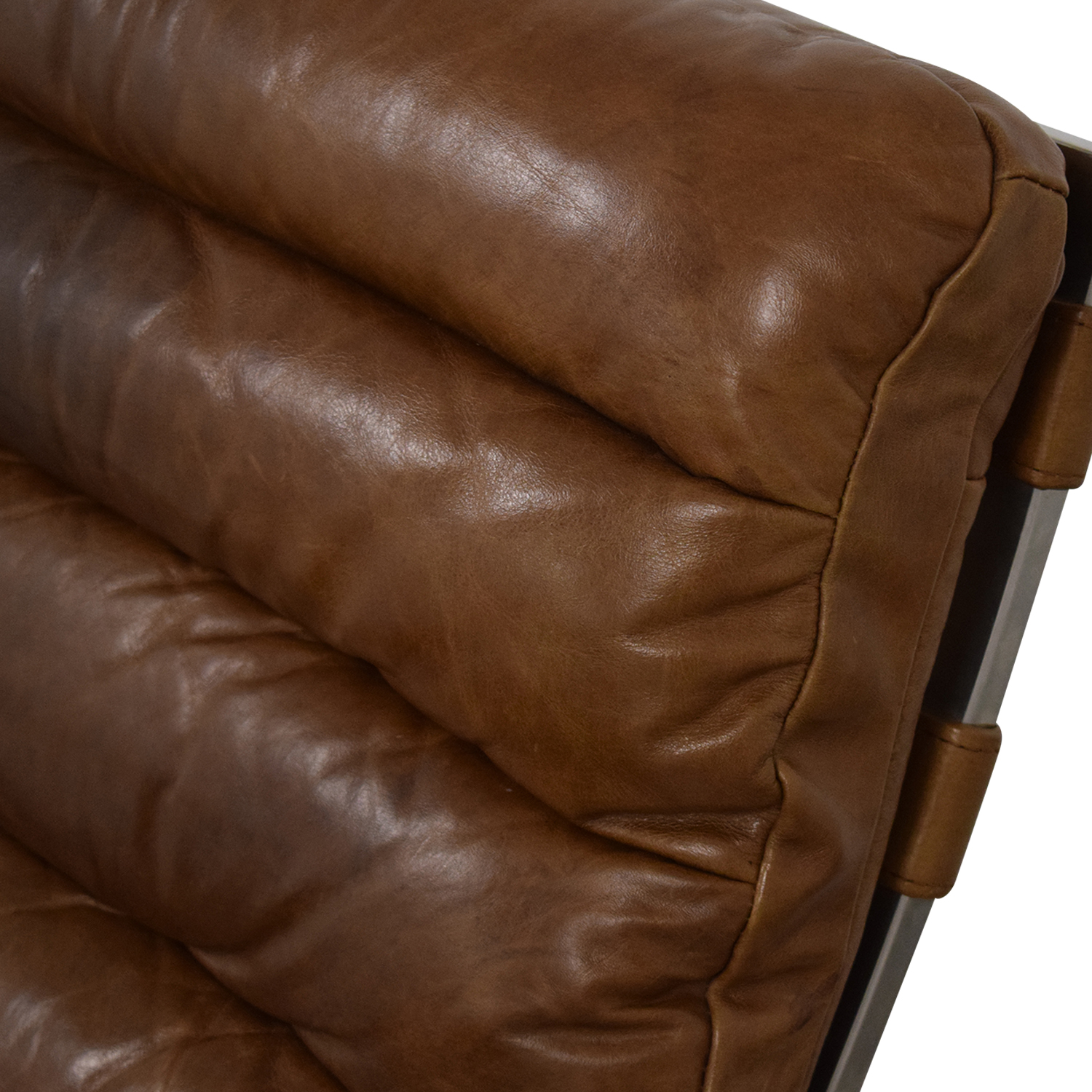 Restoration Hardware Restoration Hardware Oviedo Leather Chair brown