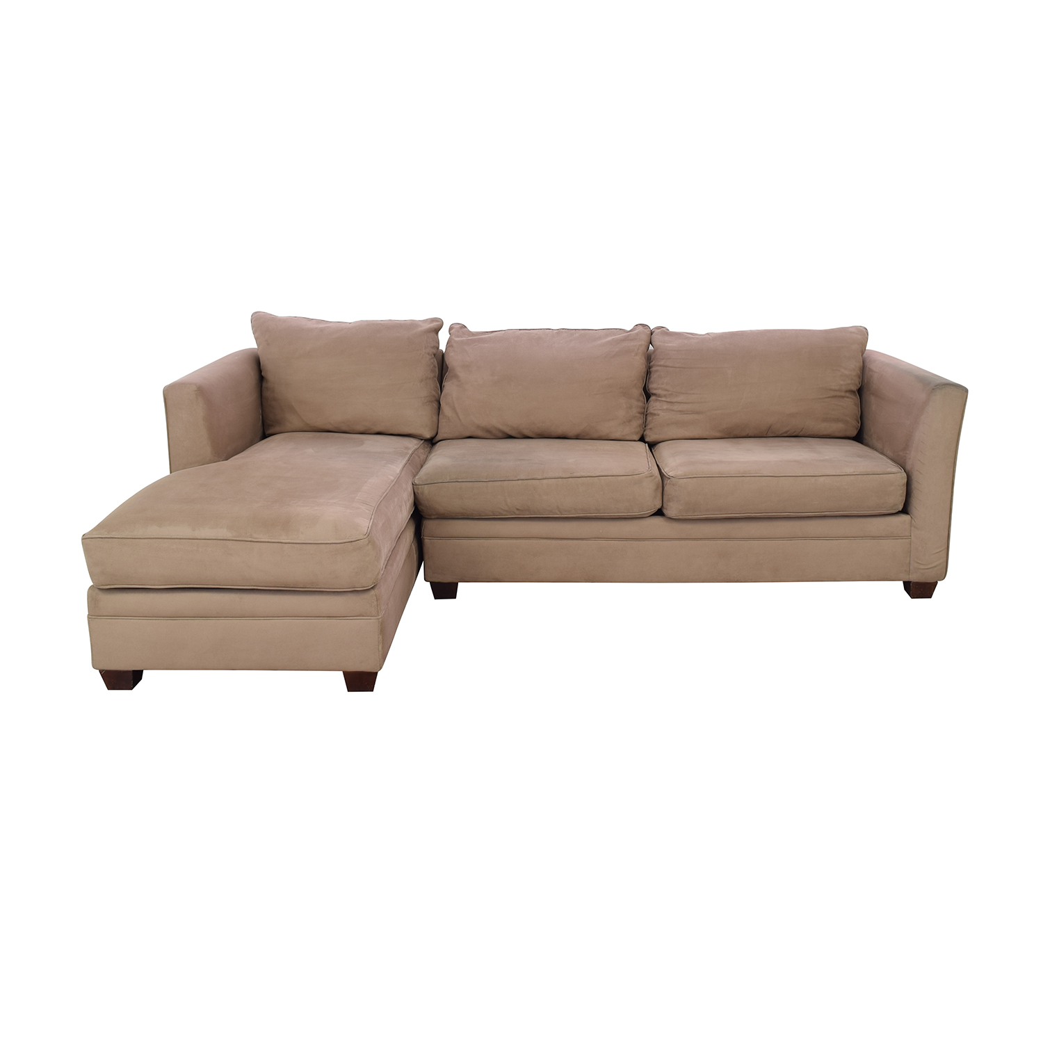 55% OFF - Bauhaus Furniture Bauhaus Chaise Sectional Sofa / Sofas