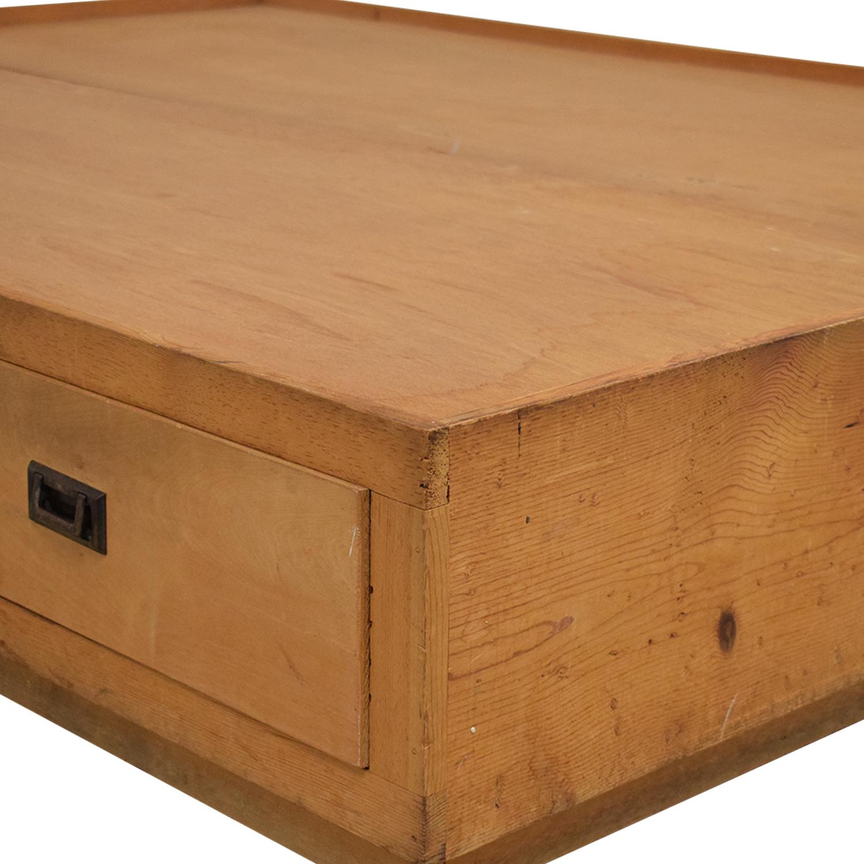 buy Gothic Cabinet Craft Captain's Queen Bed Gothic Cabinet Craft Bed Frames