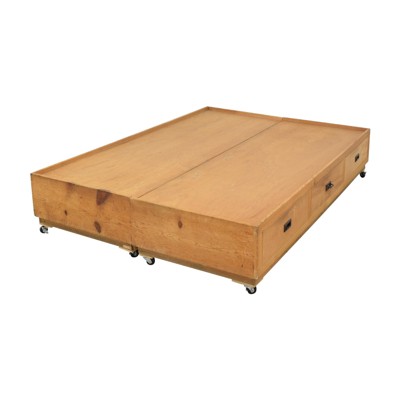 Gothic Cabinet Craft Gothic Cabinet Craft Captain's Queen Bed price