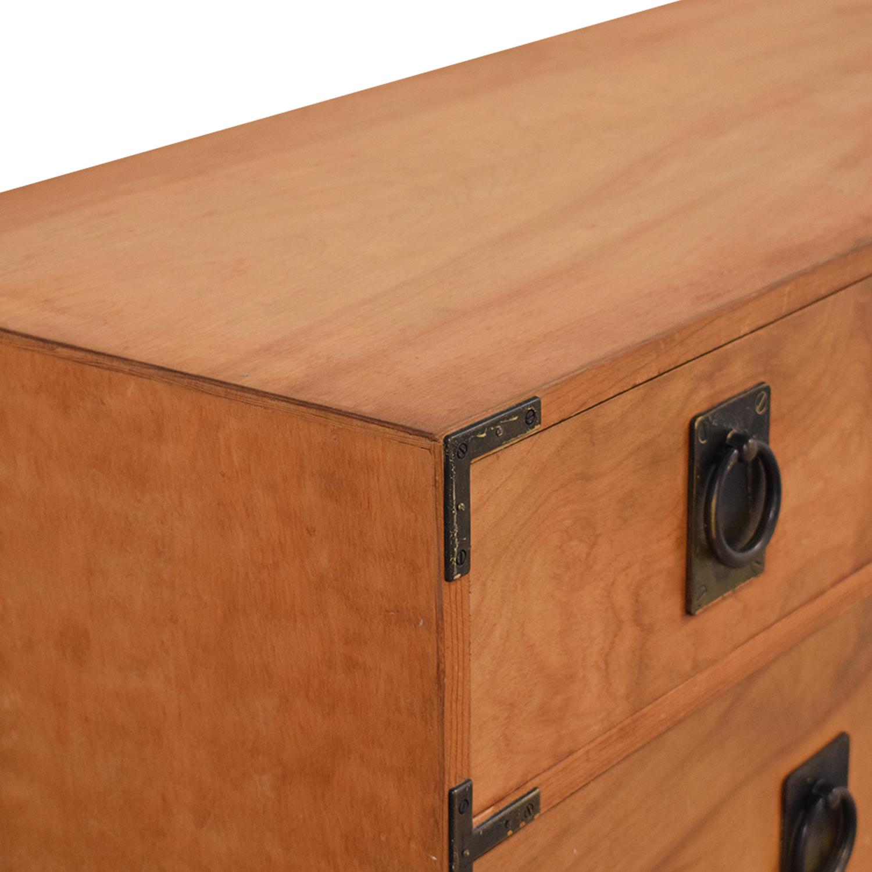 Gothic Cabinet Craft Seven Drawer Dresser sale