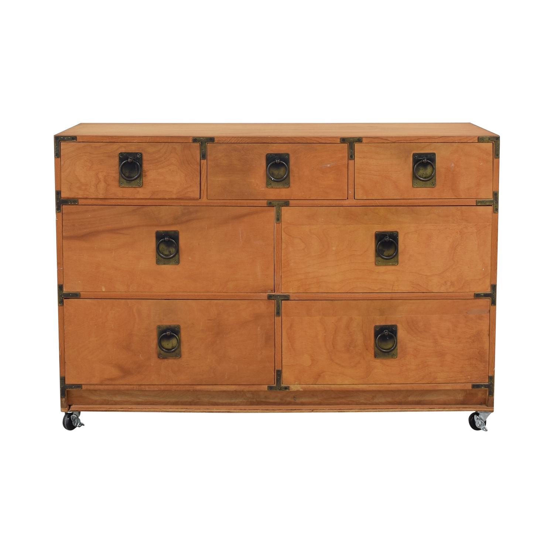 shop Gothic Cabinet Craft Gothic Cabinet Craft Seven Drawer Dresser online