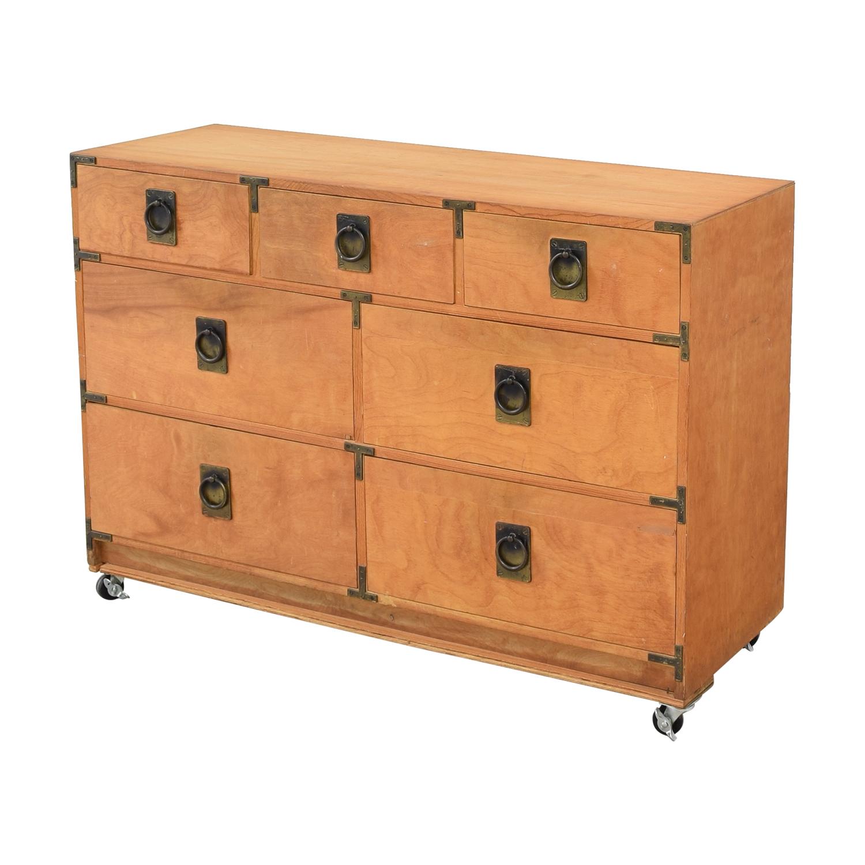 Gothic Cabinet Craft Gothic Cabinet Craft Seven Drawer Dresser used