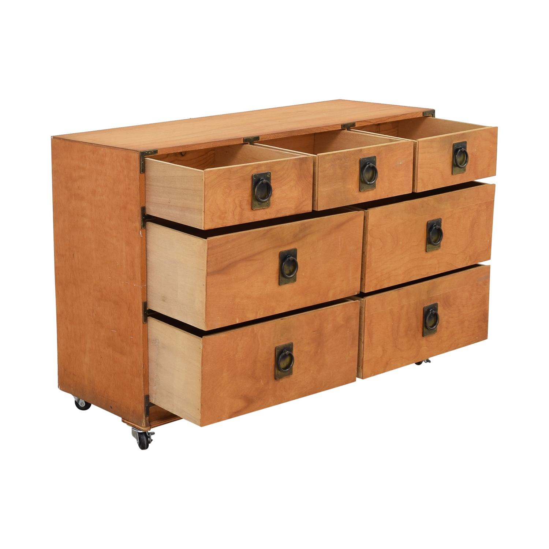 Gothic Cabinet Craft Gothic Cabinet Craft Seven Drawer Dresser brown