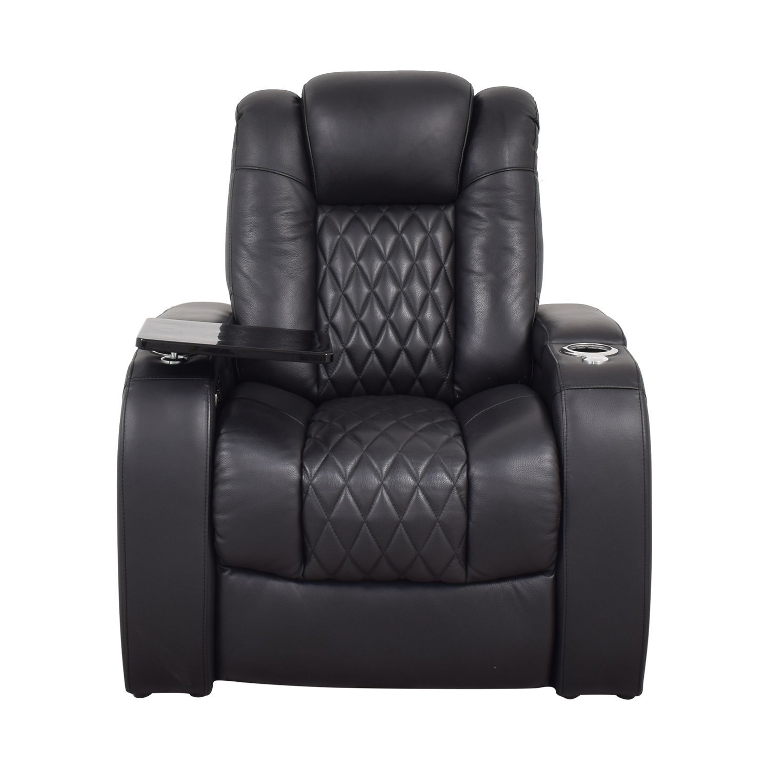Seatcraft Diamante Home Theater Seating Leather Power Recliner sale