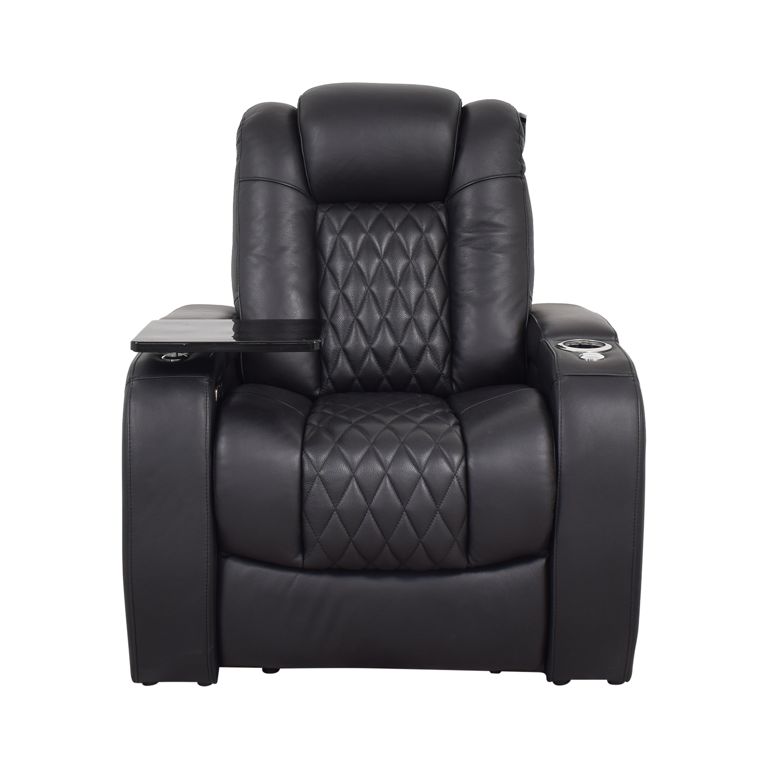 buy Seatcraft Seatcraft Diamante Home Theater Seating Leather Power Recliner online