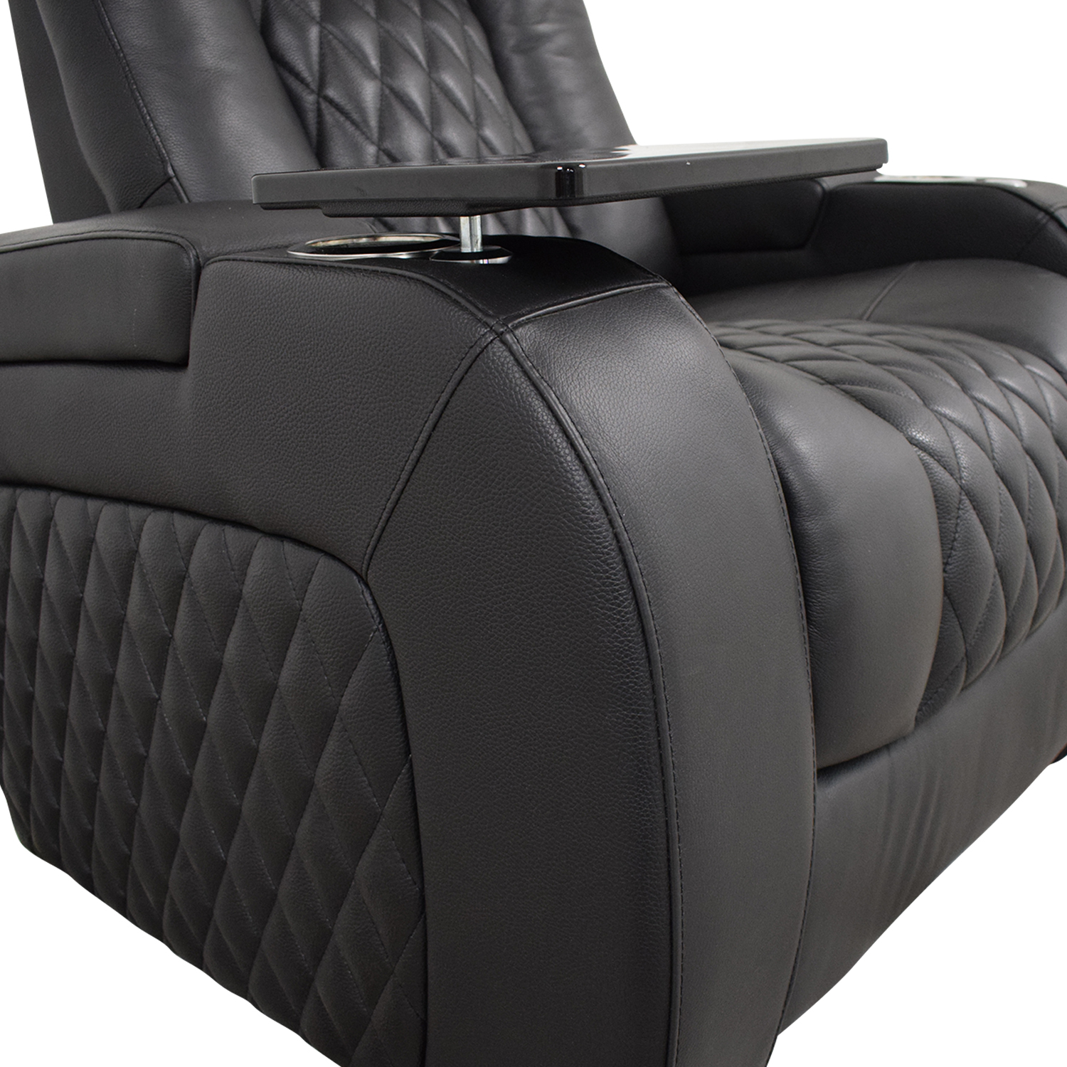 Seatcraft Seatcraft Diamante Home Theater Seating Leather Power Recliner pa