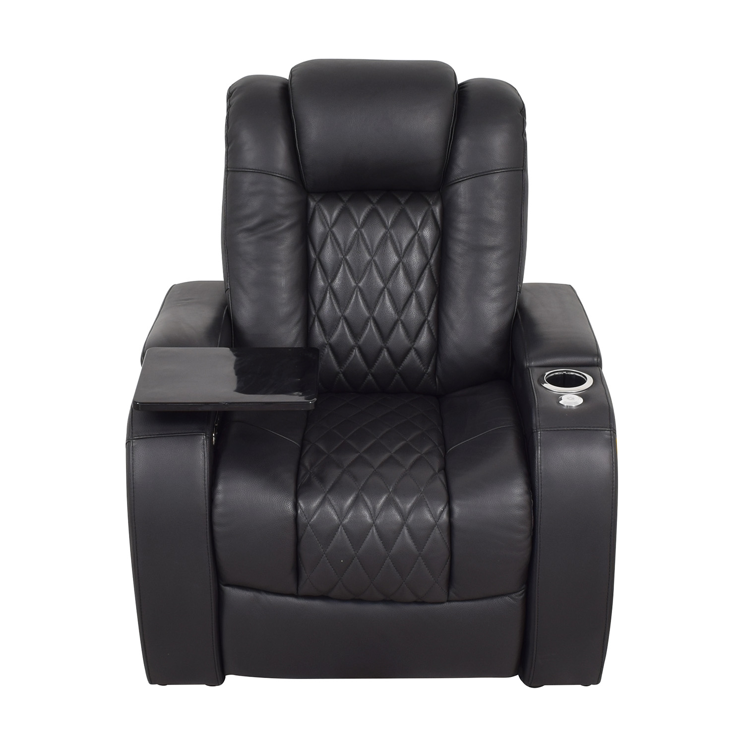 Seatcraft Diamante Home Theater Seating Leather Power Recliner / Recliners