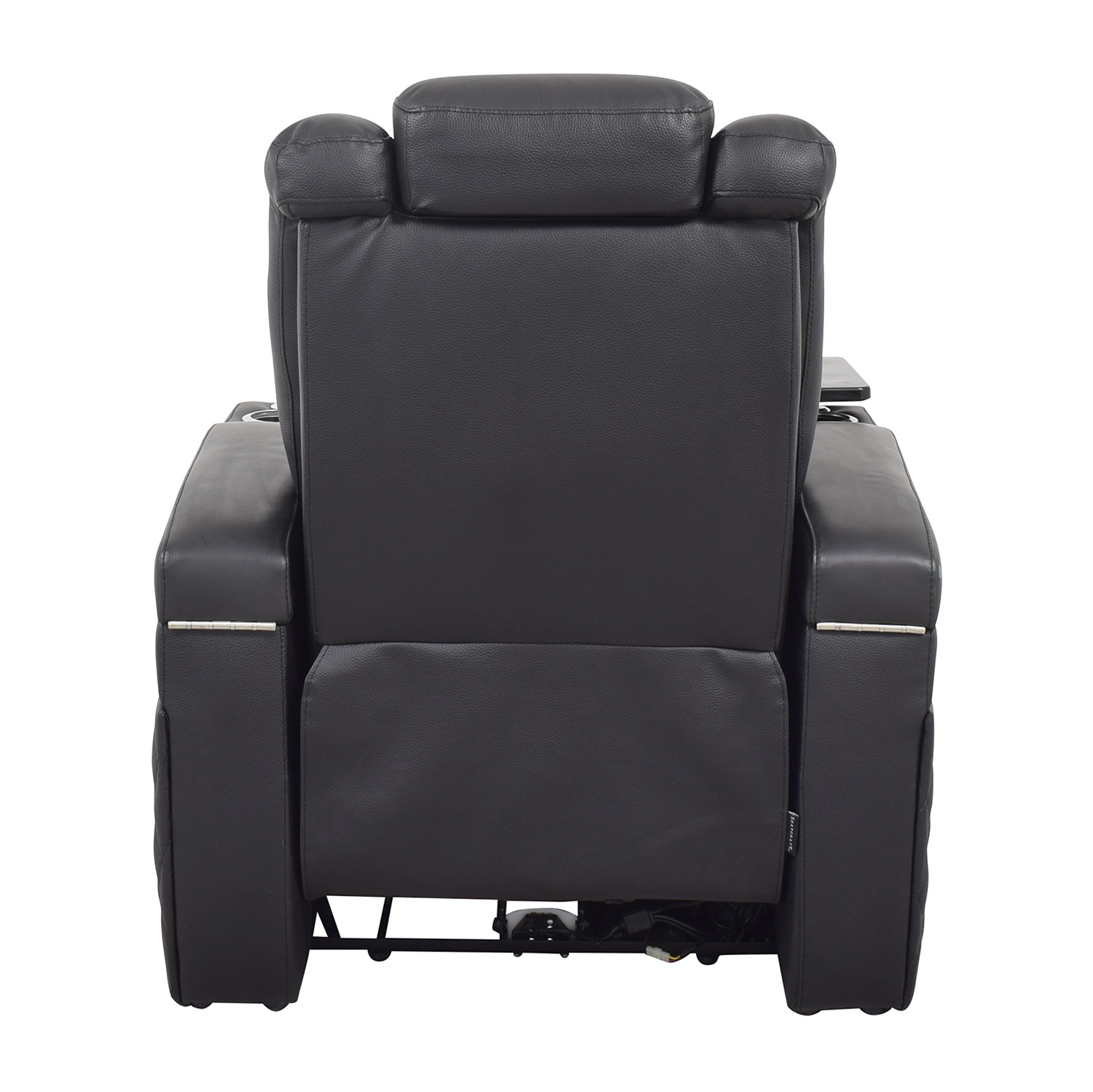 Seatcraft Seatcraft Diamante Home Theater Seating Leather Power Recliner discount