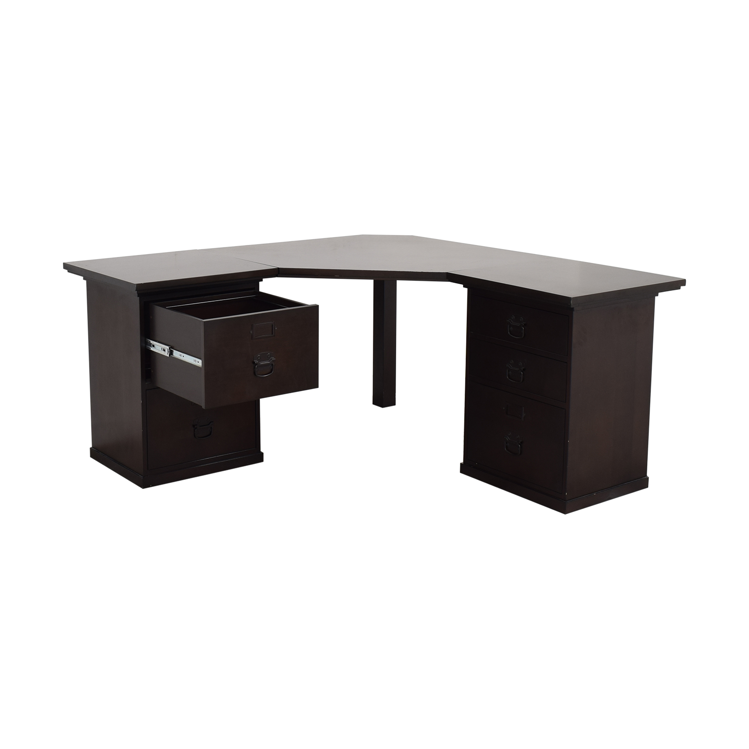West Elm West Elm Corner Desk used