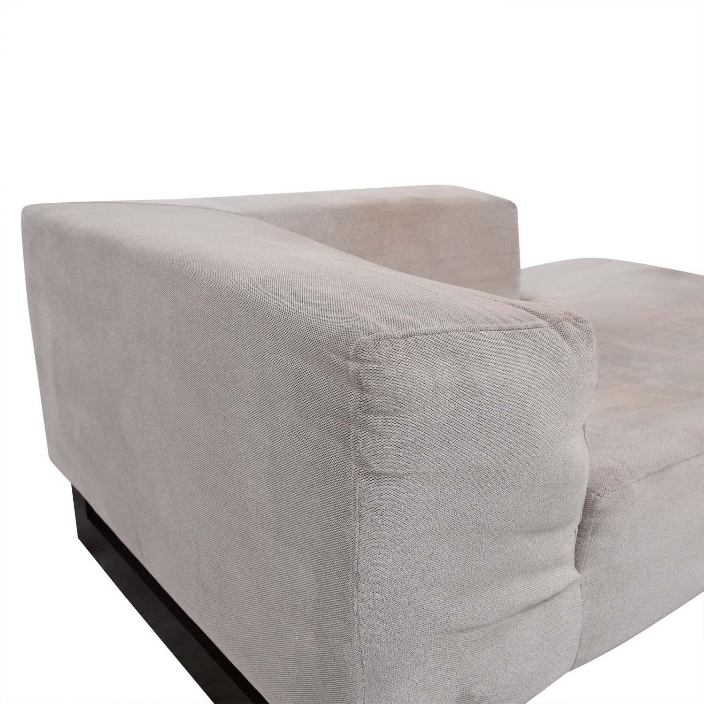 shop West Elm Mid Century Chaise Lounge West Elm Chaises