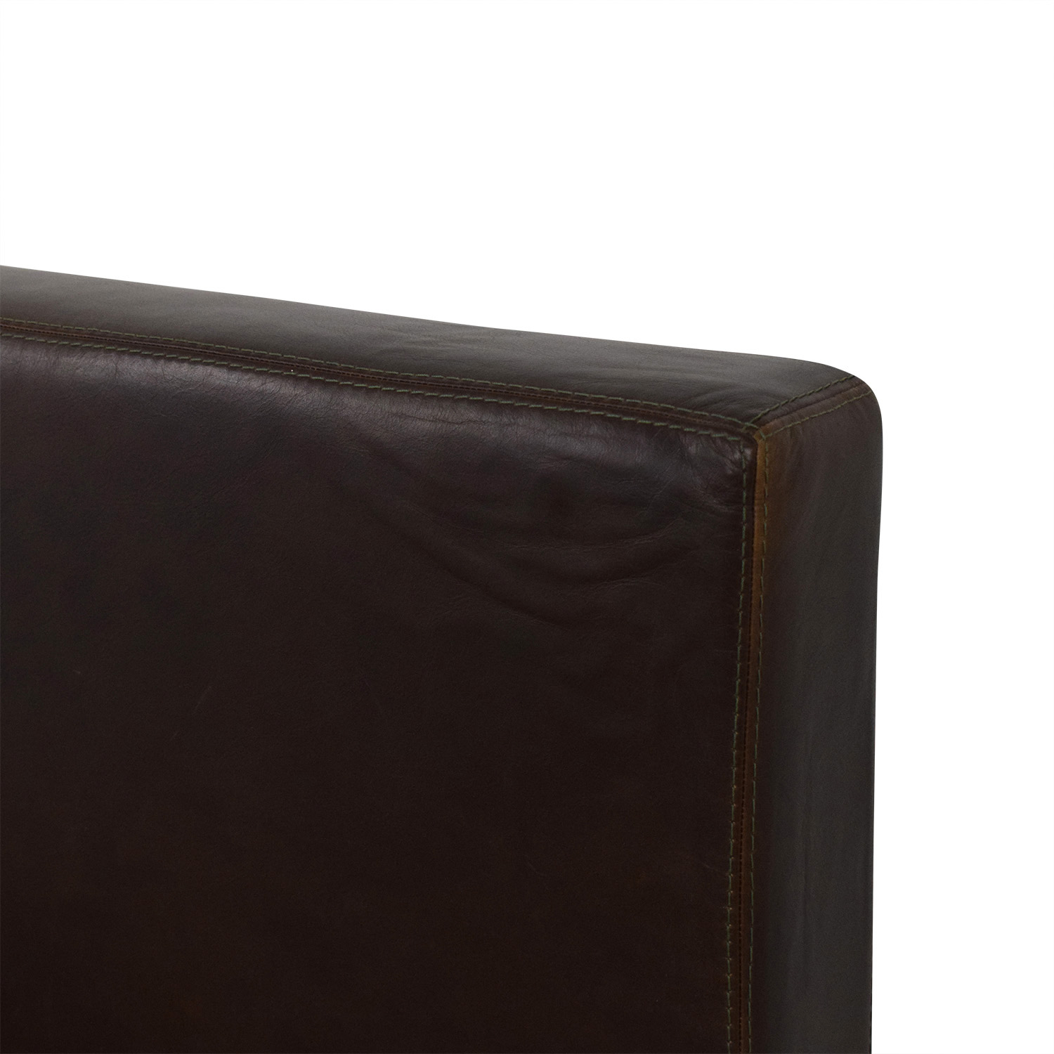 Pottery Barn Pottery Barn Queen Headboard and Bedframe dark brown