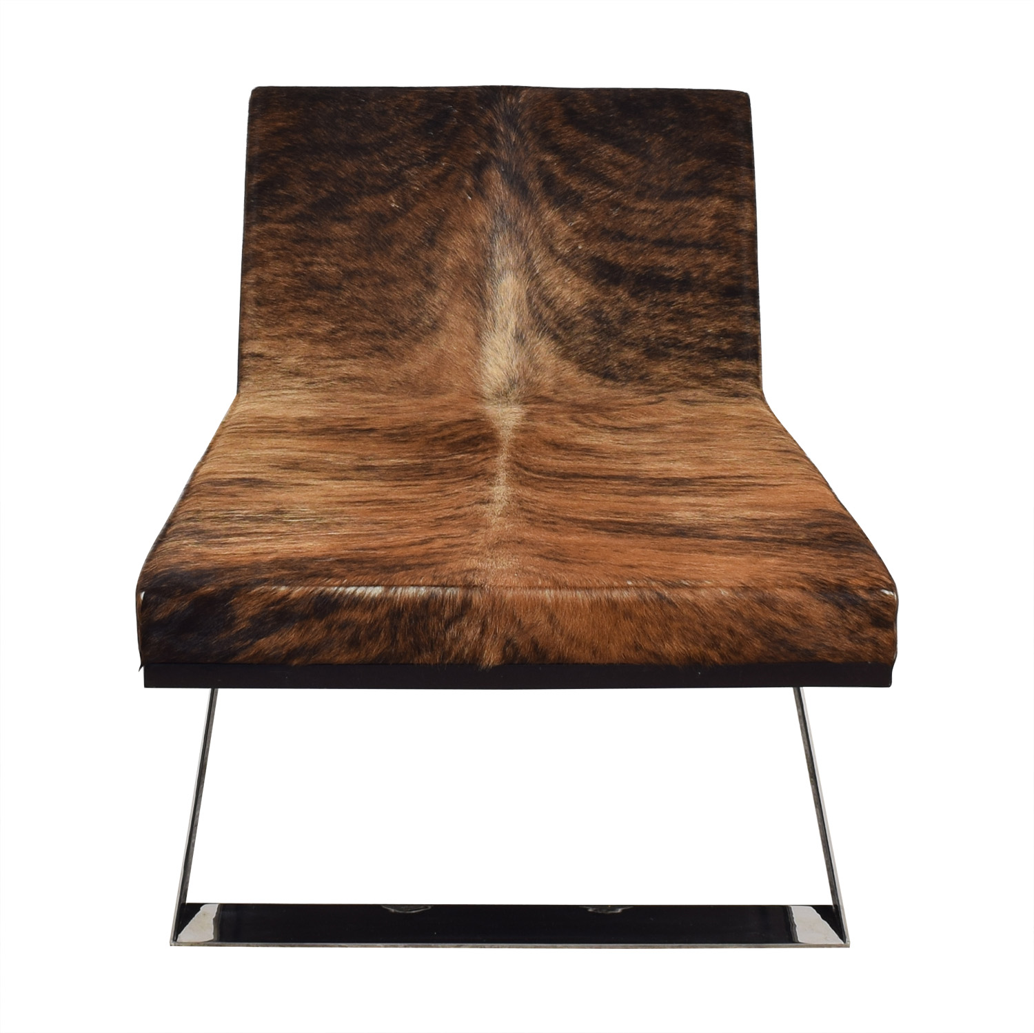 buy Moura Starr Kalup Chaise Lounge in Araca Cow Hide Moura Starr