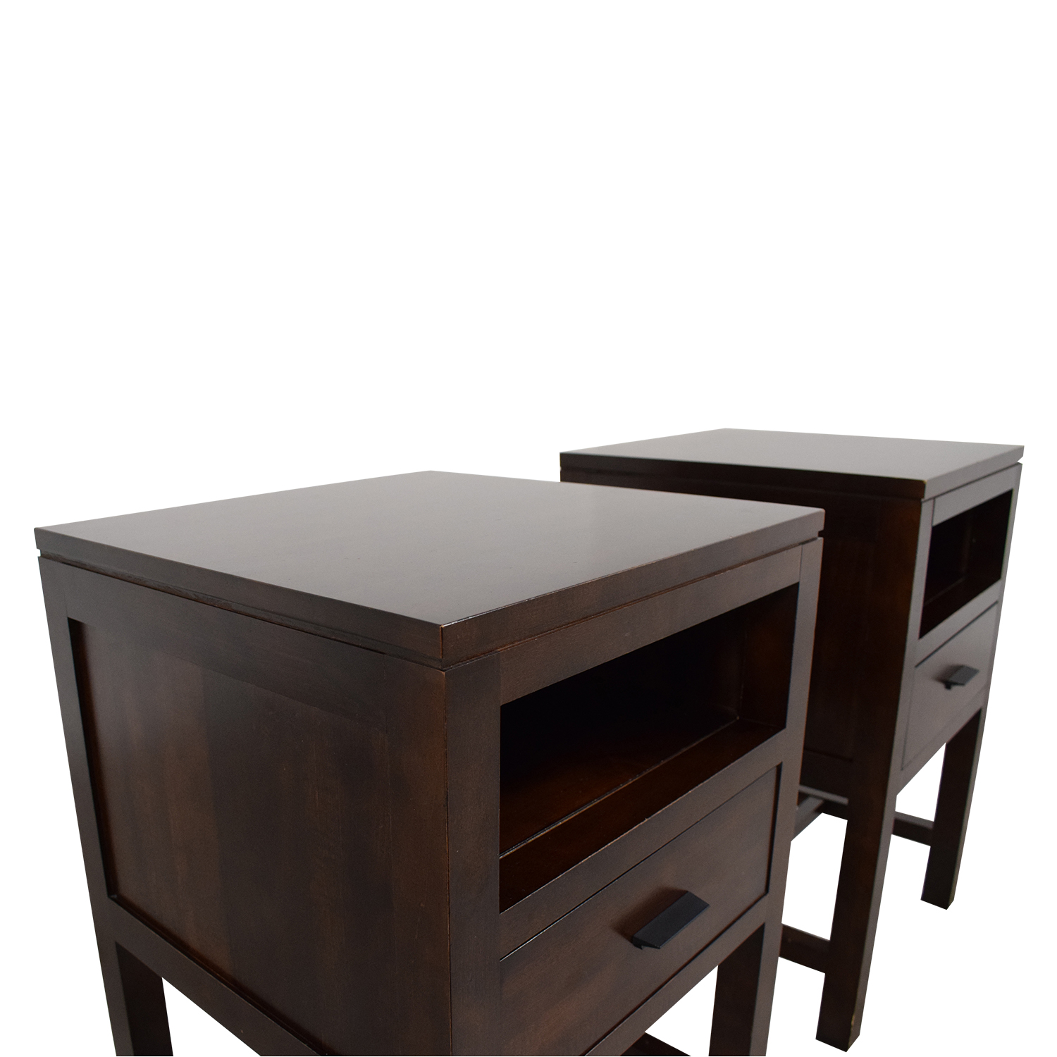 Durham Furniture Maple Wood Night Stands / End Tables