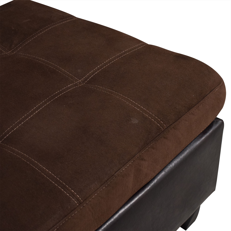 Chaise Sectional Sofa and Ottoman coupon