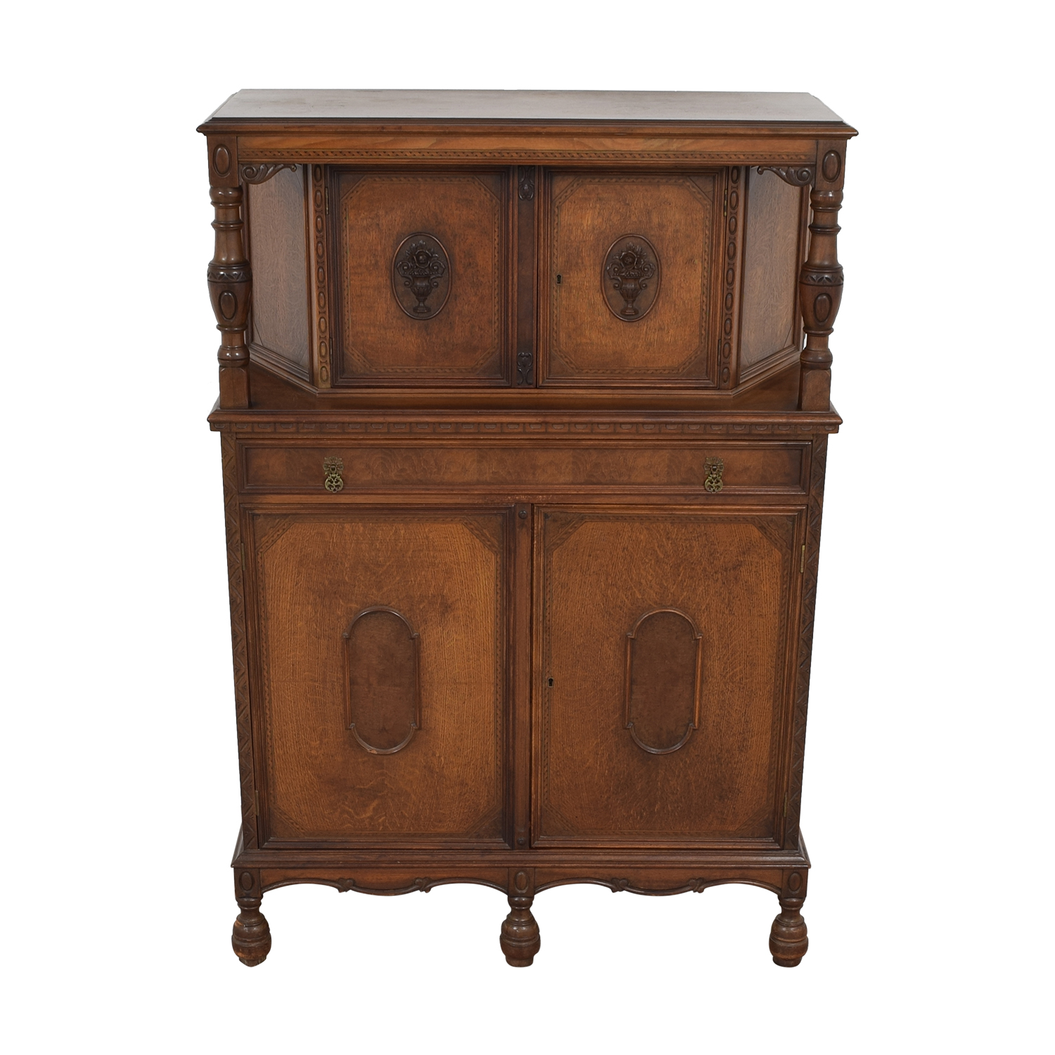 Vintage Armoire Cabinet Cabinets & Sideboards