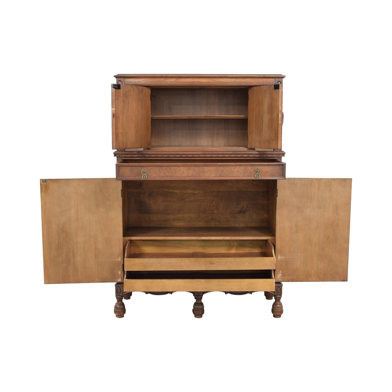 shop Vintage Armoire Cabinet  Cabinets & Sideboards