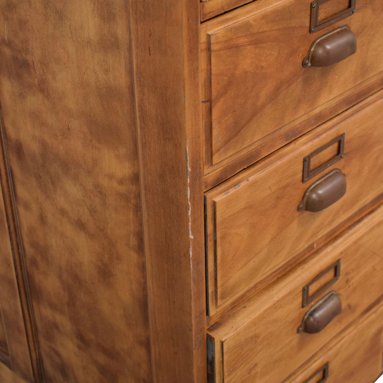 Vintage Fifteen Drawer Dresser / Dressers