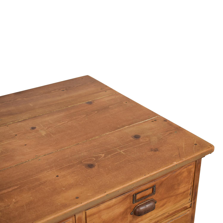 Vintage Fifteen Drawer Dresser Dressers