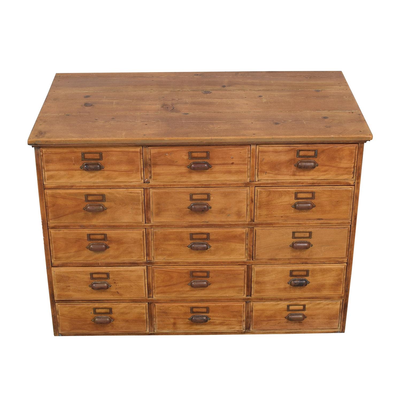 Vintage Fifteen Drawer Dresser used