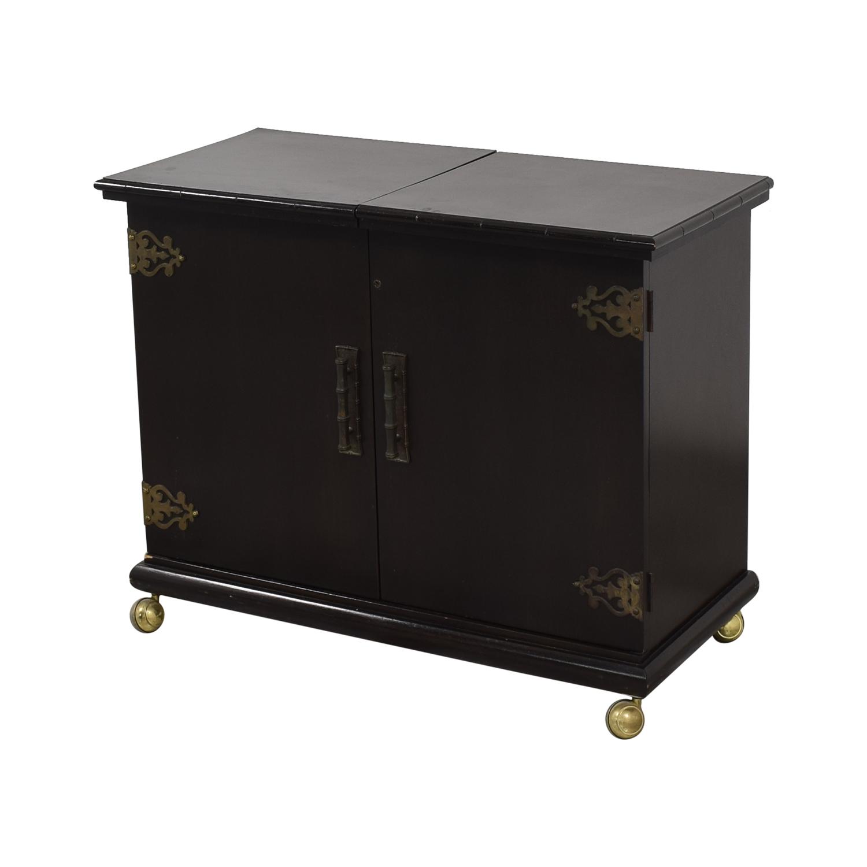 buy Vintage Bar Cabinet  Storage