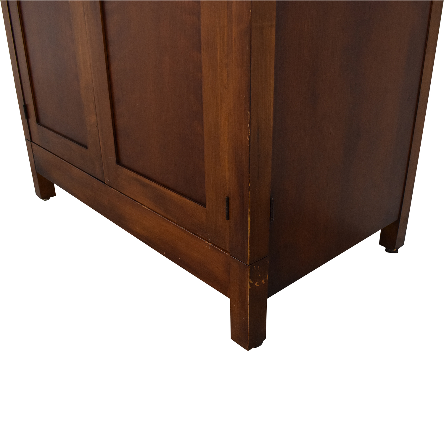 Romweber Romweber Mission Style Media Armoire brown