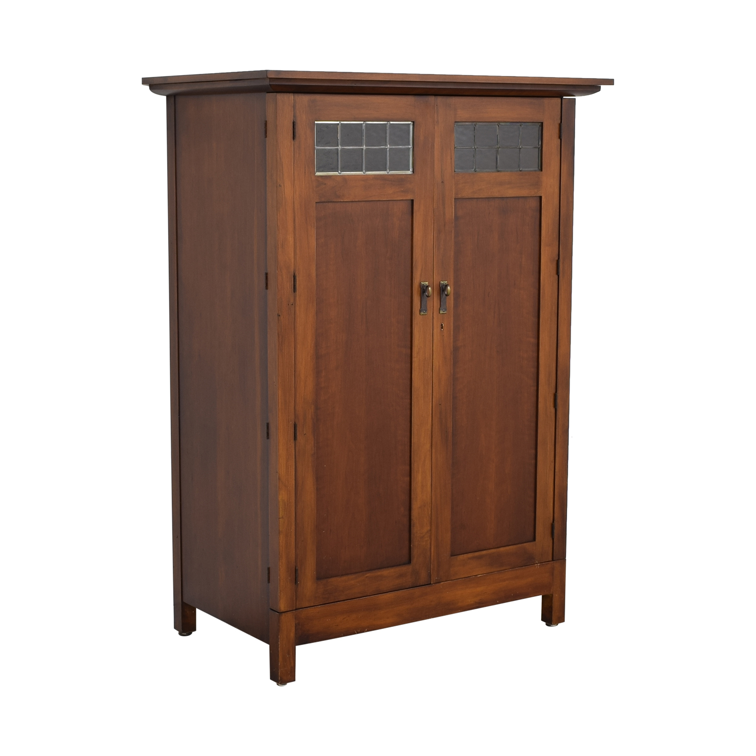 buy Romweber Mission Style Media Armoire Romweber