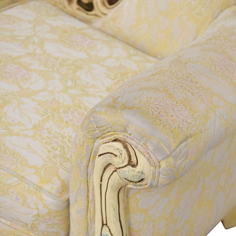 Vintage Ornate Italian Sofa ct