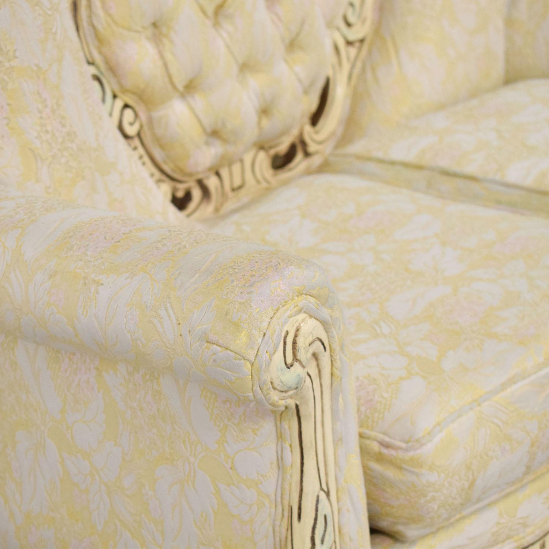 Vintage Ornate Italian Sofa used