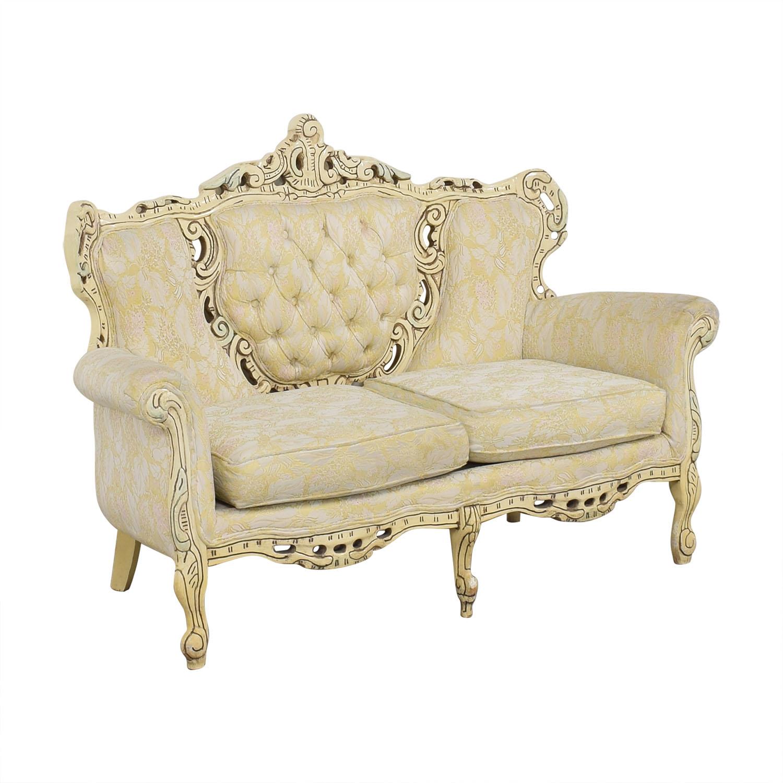 buy Vintage Ornate Italian Sofa  Loveseats