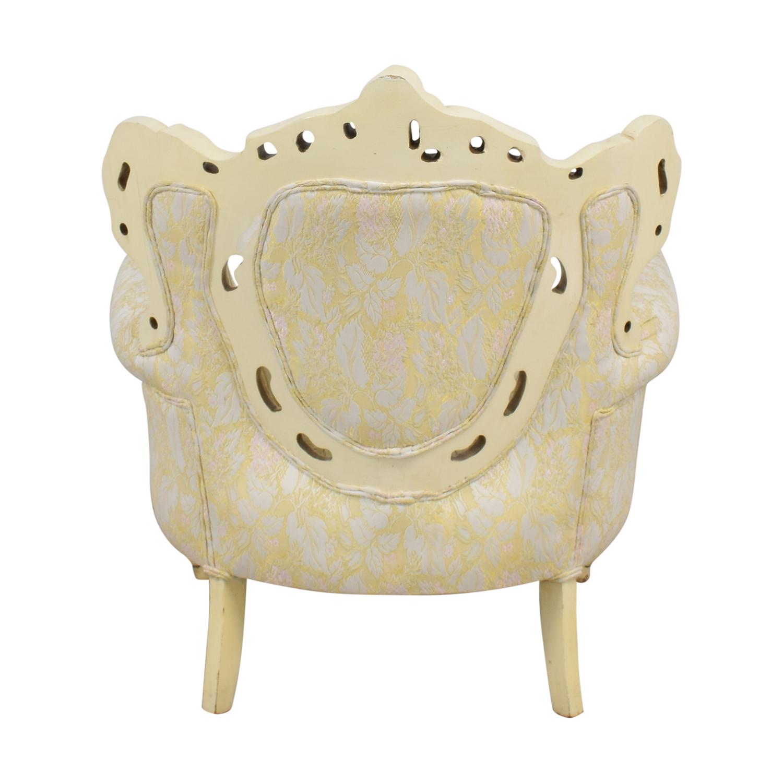 Ornate Vintage Italian Armchair discount
