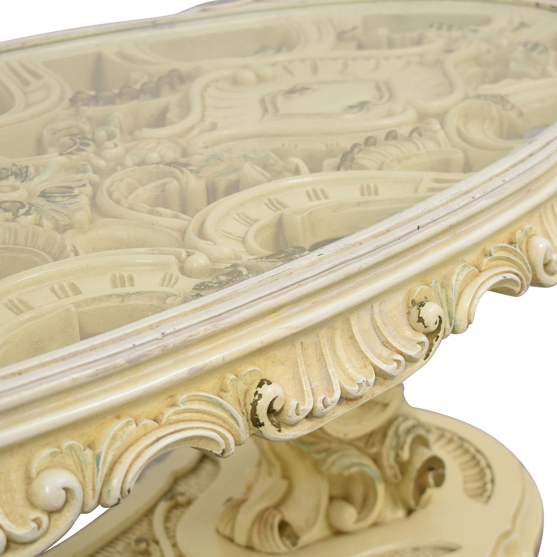 Vintage Ornate Coffee Table / Coffee Tables