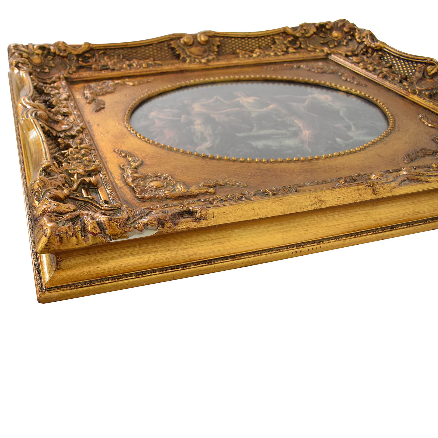 Victorian with Ornate Frame Wall Art