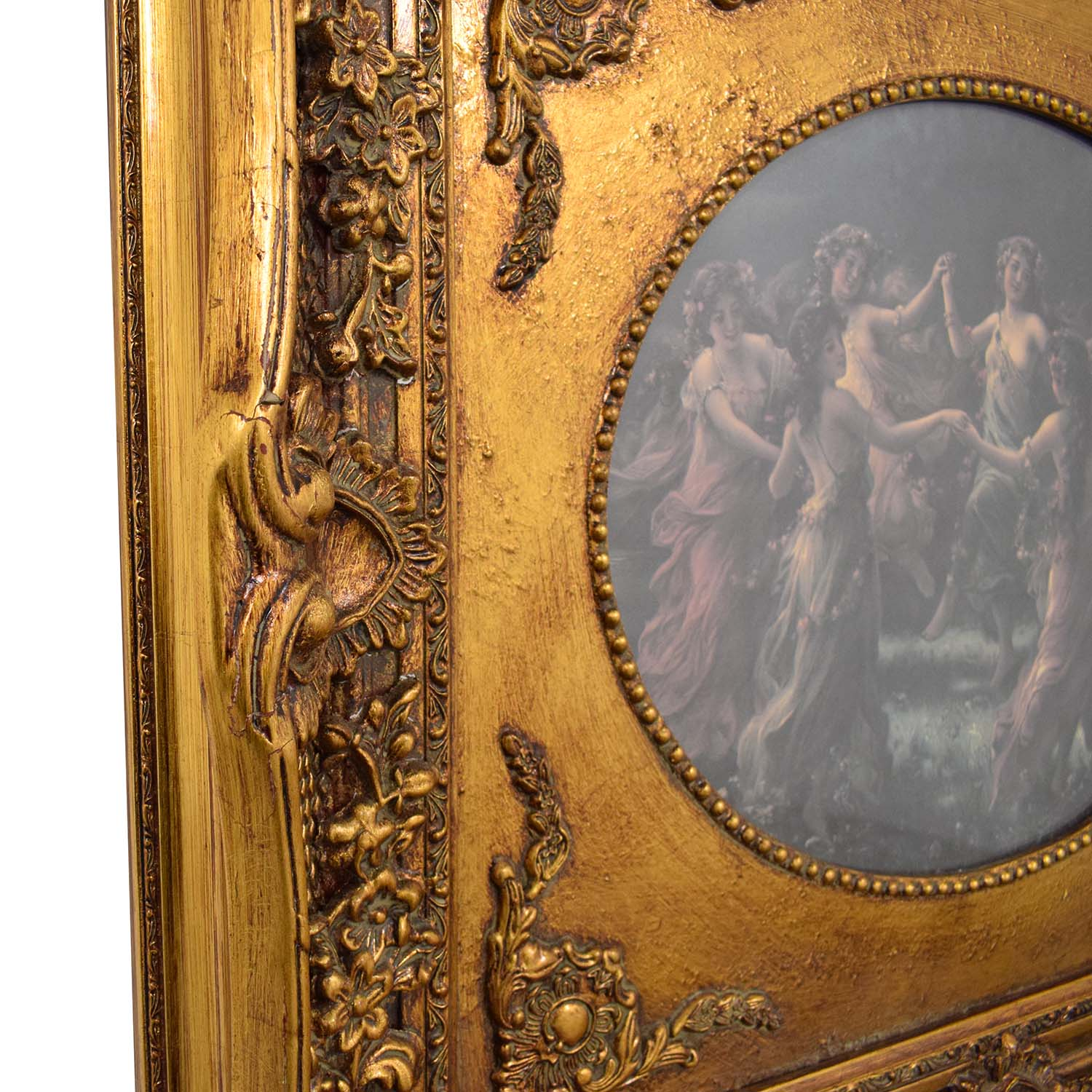 Victorian with Ornate Frame for sale