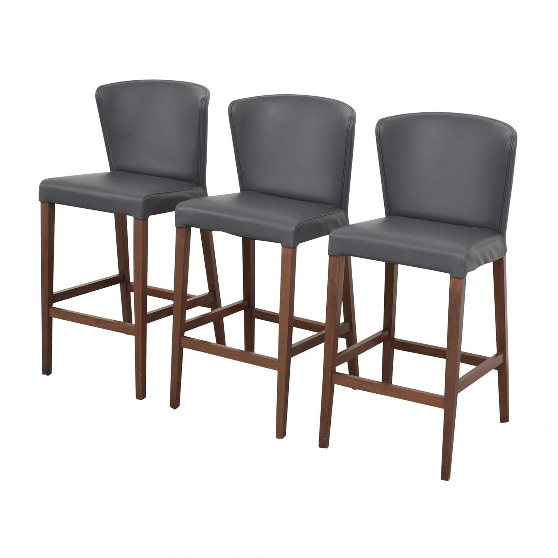 Crate & Barrel Curran Stools / Chairs