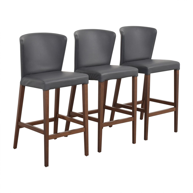 shop Crate & Barrel Curran Stools Crate & Barrel Chairs