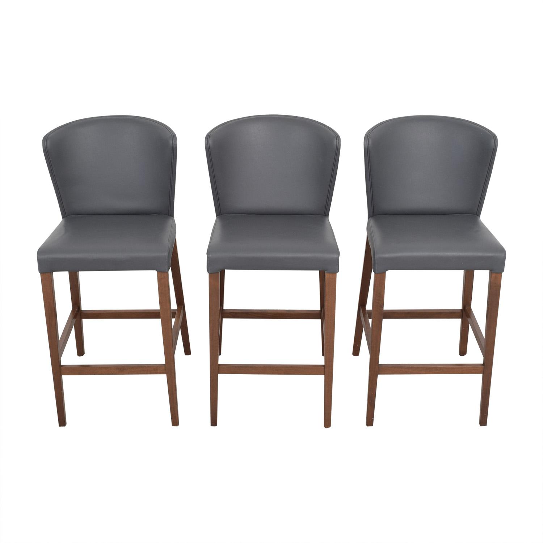 buy Crate & Barrel Curran Stools Crate & Barrel Chairs