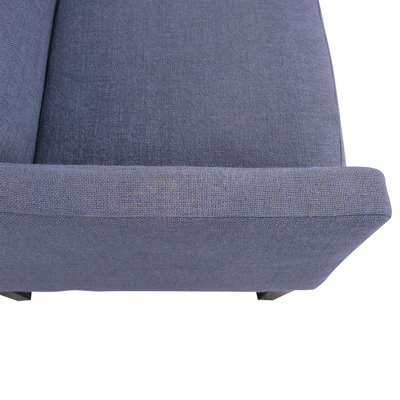 buy West Elm Single Cushion Loveseat West Elm Sofas
