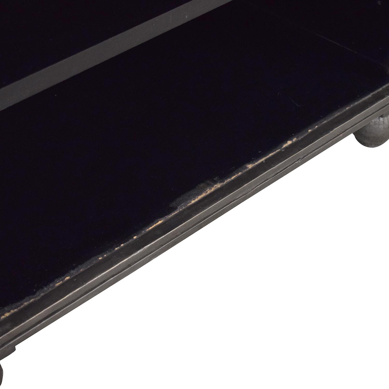 buy Restoration Hardware Annecy Double Door Sideboard & Open Hutch Restoration Hardware Storage