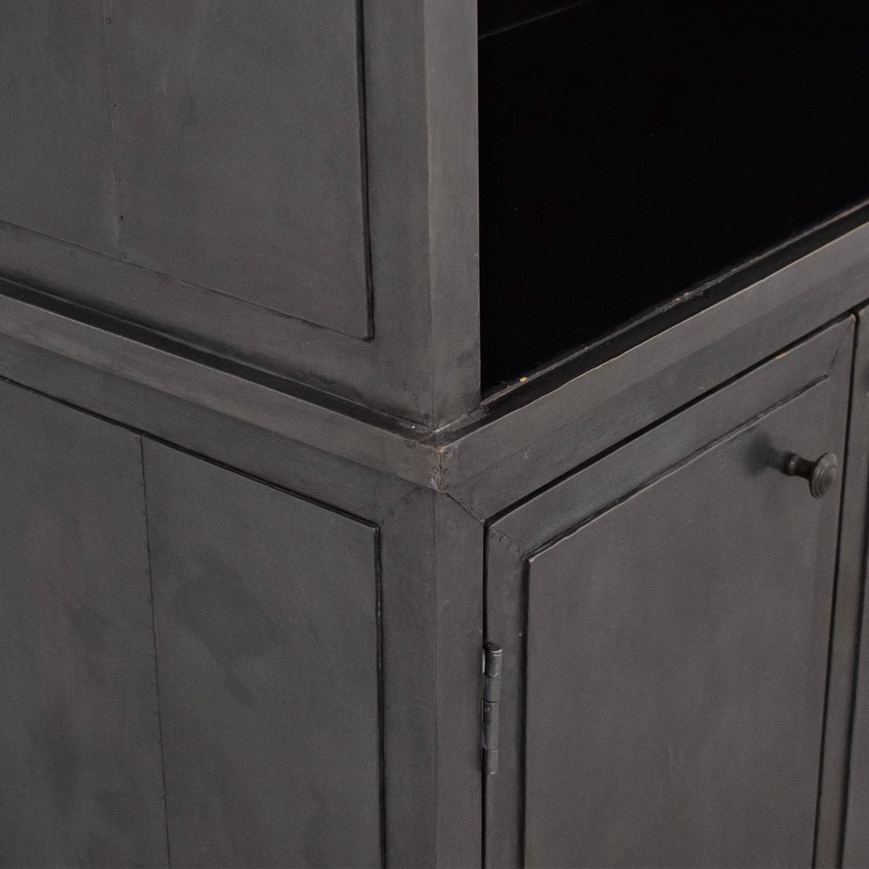 Restoration Hardware Restoration Hardware Annecy Double Door Sideboard & Open Hutch ct