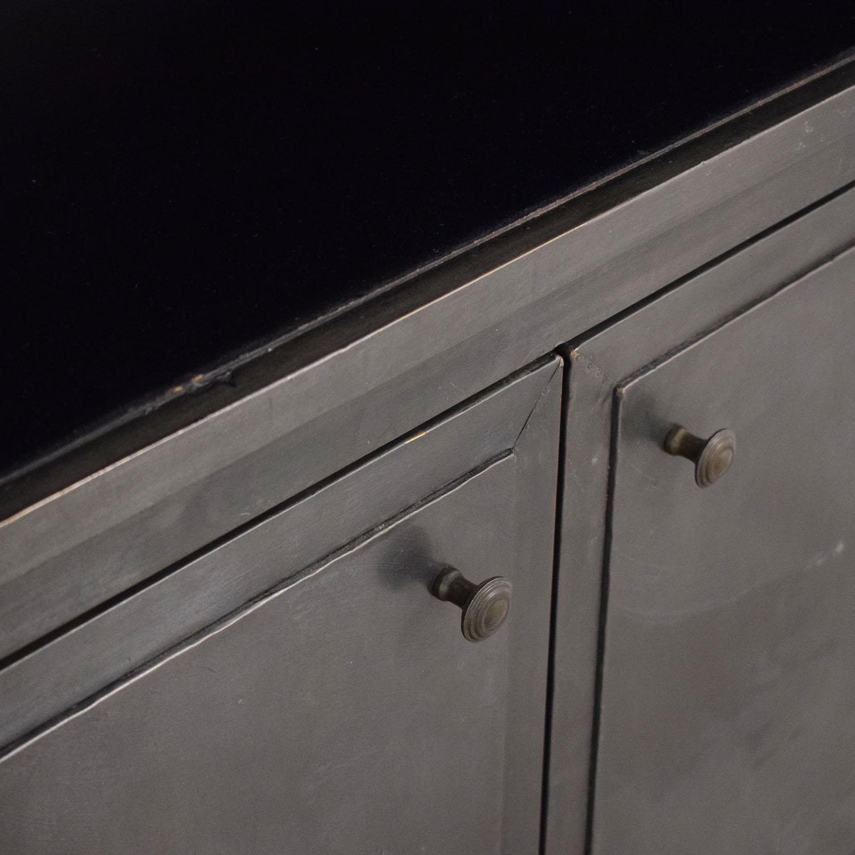 Restoration Hardware Restoration Hardware Annecy Double Door Sideboard & Open Hutch price