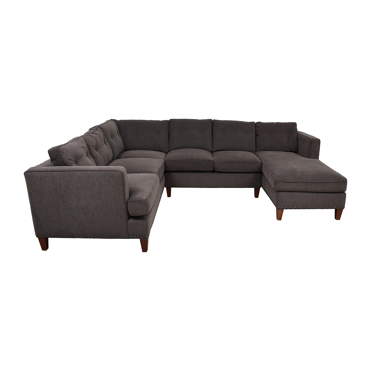 Strange 79 Off Arhaus Arhaus Garner Sectional Sofa Sofas Alphanode Cool Chair Designs And Ideas Alphanodeonline
